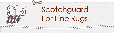 Cleaning Coupons | $15 off scotchguard for rugs | Brooklyn Carpet Cleaning