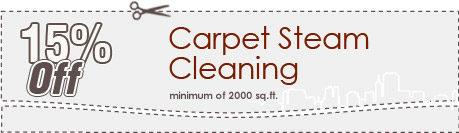 Cleaning Coupons | 15% off carpet steam cleaning | Brooklyn Carpet Cleaning