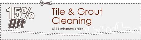 Cleaning Coupons | 15% off tile & grout cleaning | Brooklyn Carpet Cleaning